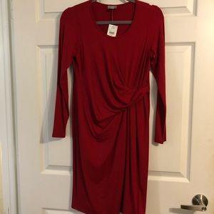 J Jill Knit long sleeve dress